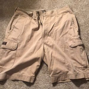 Mens Abercrombie and Fitch Khaki Shorts